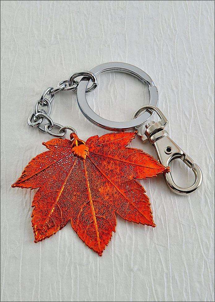 Maple Leaf Keychain